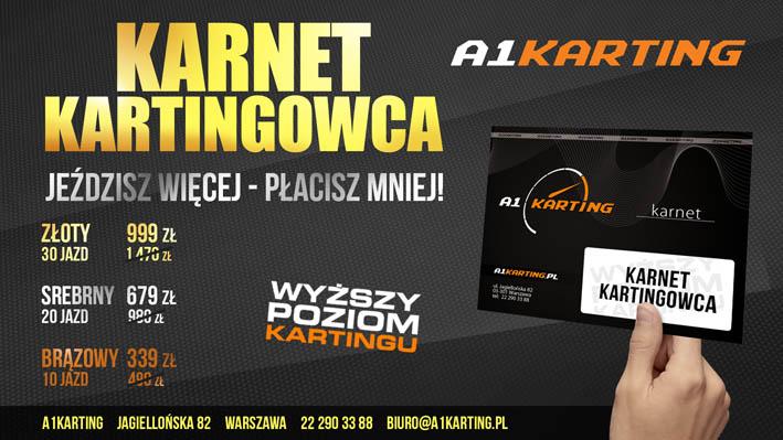 Karnet Kartingowca A1Karting