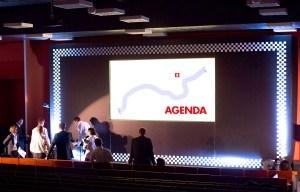 Aranżacja sceny z ekranem LED-owym